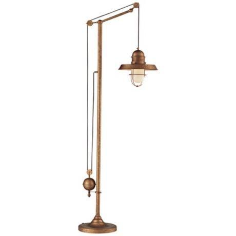dimond farmhouse bellwether copper floor lamp. Black Bedroom Furniture Sets. Home Design Ideas