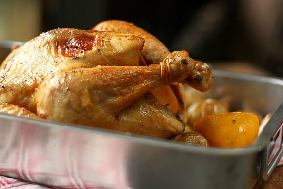 Lemon and Thyme Roast Chicken | delicious | Pinterest