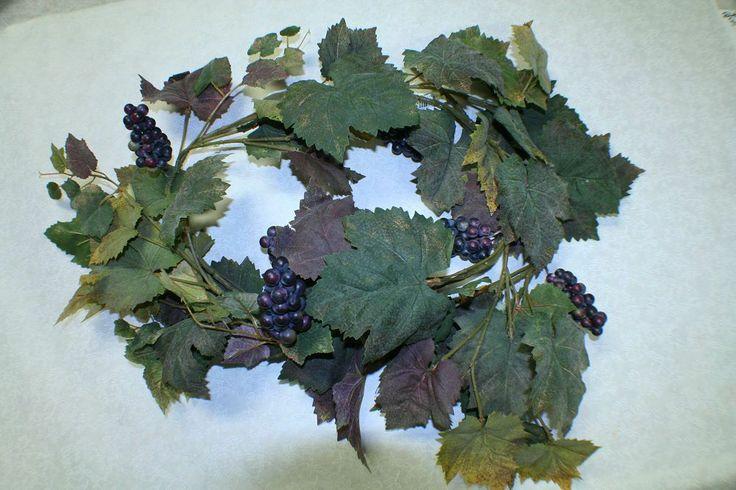 Grapes garland grape berry garland fruit arrangements pinterest