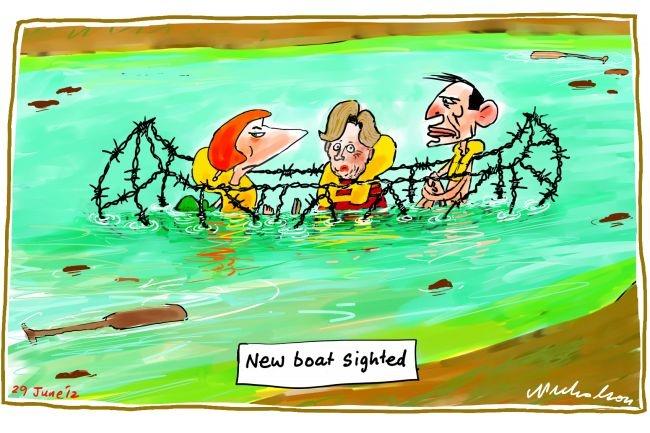 New Boat Sighted, Nicholson, The Australian | Political Cartoons ...
