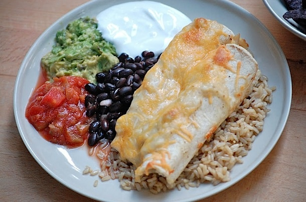 Homemade Lighter Chicken Enchiladas | {yum} | Pinterest