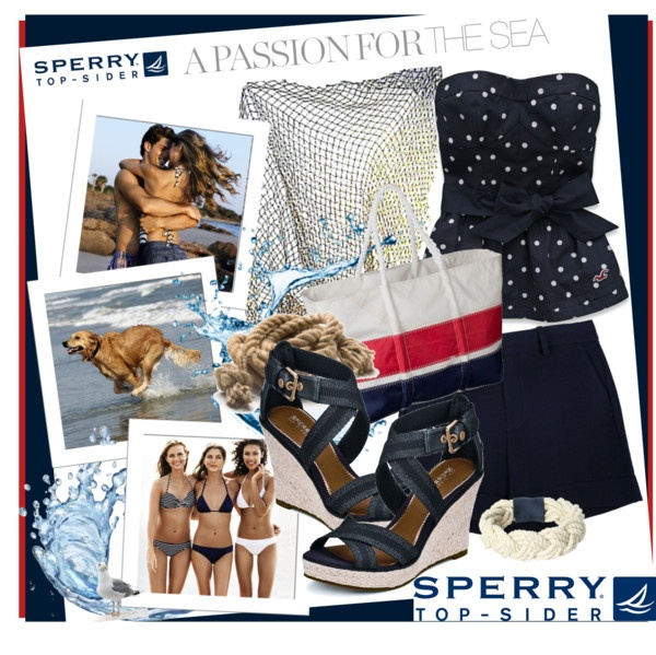 """A Sperry Summer by the Sea"" by katsfashion on Polyvore"