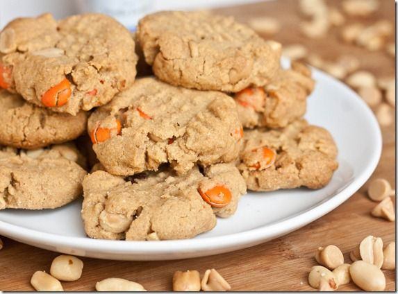 triple peanut butter cookies | Recipes - Cookies & Candies | Pinterest