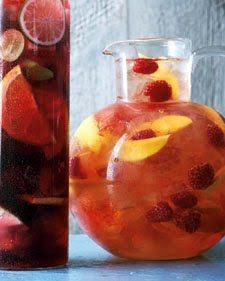 Raspberry-Mango Sangria | FOODIE! - Beverages | Pinterest