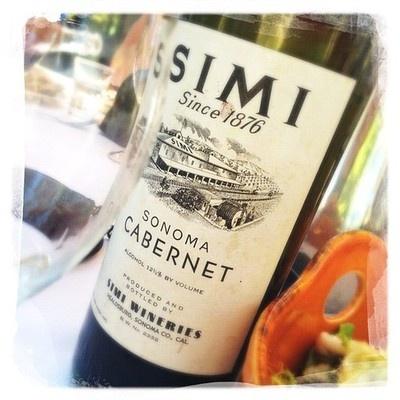 Simi, Alexander Valley Cabernet Sauvignon, Circa 1946 - A taste of history.  #sonoma #wine