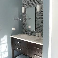 Houzz bathroom ideas - Benjamin Moore Amsterdam Af550 There Are Several Colors In That