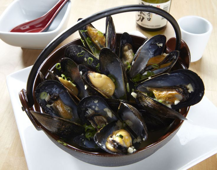 Sake Steamed Mussels Recipes — Dishmaps