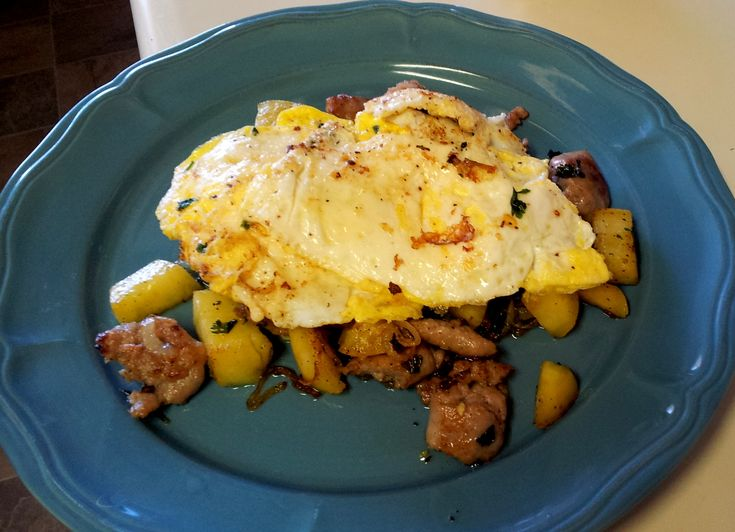 Sausage Sweet Potato Hash | Whole30 | Pinterest