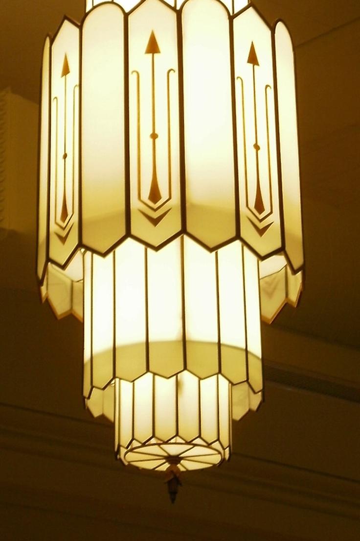 Art deco 1930s chandelier vintage lighting pinterest - Lighting lamps chandeliers ...