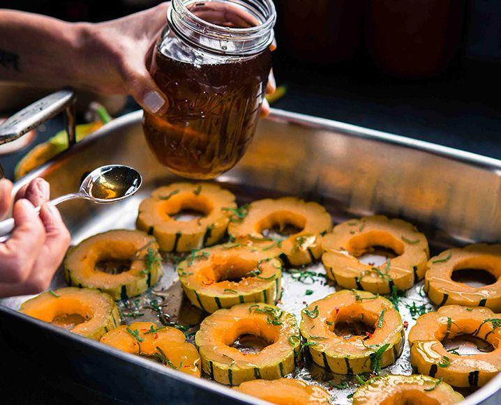 Eyeswoon Delicata Squash Recipe | Food & Drink | Pinterest