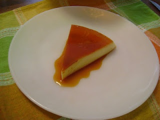 Cool and smooth flan is the perfect dessert on a hot summer's day.