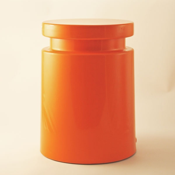 Orange Henry Dean Stool http://www.comerfordcollection.com