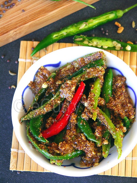 Pickled Chili Pepper | Mouthwatering Indian Food & Drink | Pinterest