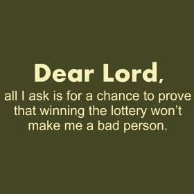 yes, Lord!