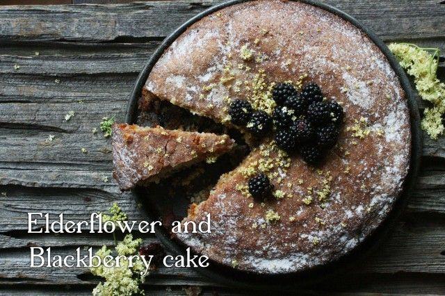Elderflower and blackberry cake | savor | Pinterest