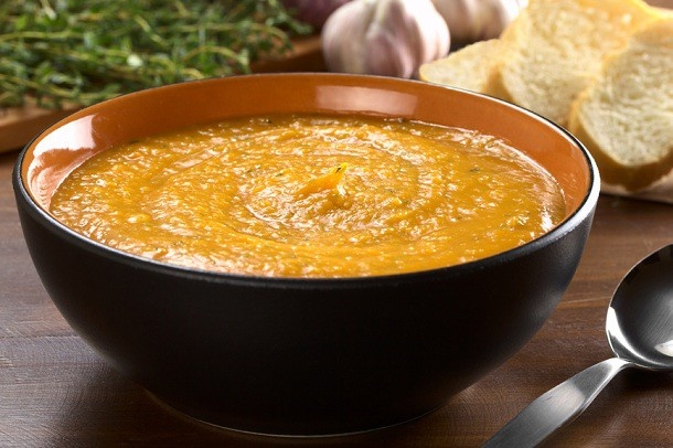 Spicy Sweet Potato Soup | Recipe
