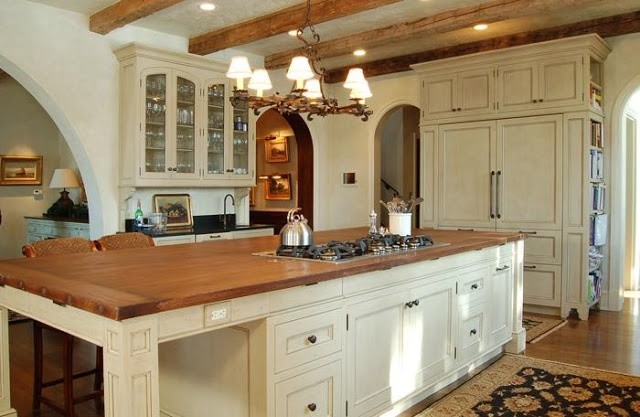 The Enchanted Home creamy kitchens  The Enchanted Home  Pinterest