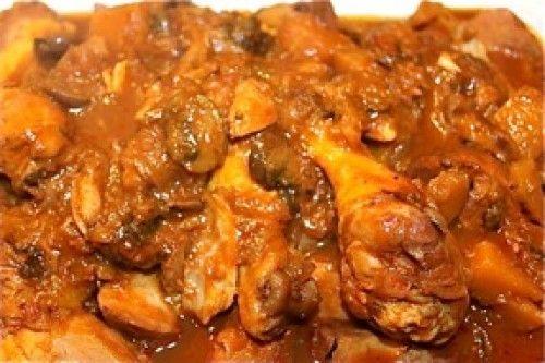 Hearty Chicken Stew With Butternut Squash & Quinoa Recipe — Dishmaps