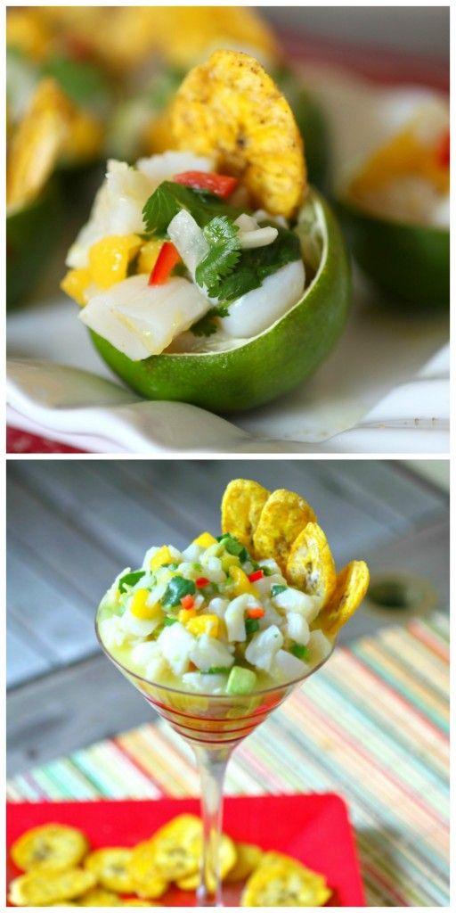 Scallop Ceviche Food Done Light #cevicherecipe #scalloprecipe # ...