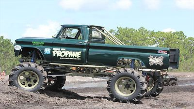 Chevrolet : C-10 Custom Mud Truck 1966 Chevrolet C - http://www.legendaryfinds.com/chevrolet-c-10-custom-mud-truck-1966-chevrolet-c-2/