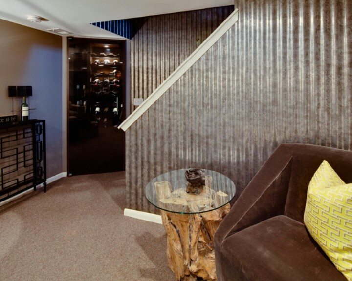 Corrugated Metal Walls Awesomeness Home Pinterest