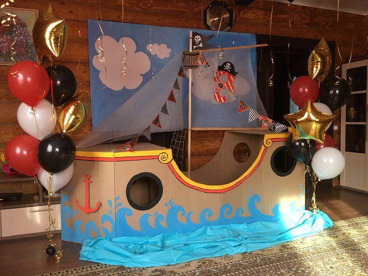 Пиратские приглашения на день рождения своими руками 6