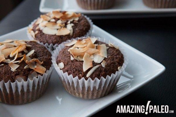 Dark Chocolate Coconut Muffins | Amazing Paleo | Morning Glory ...
