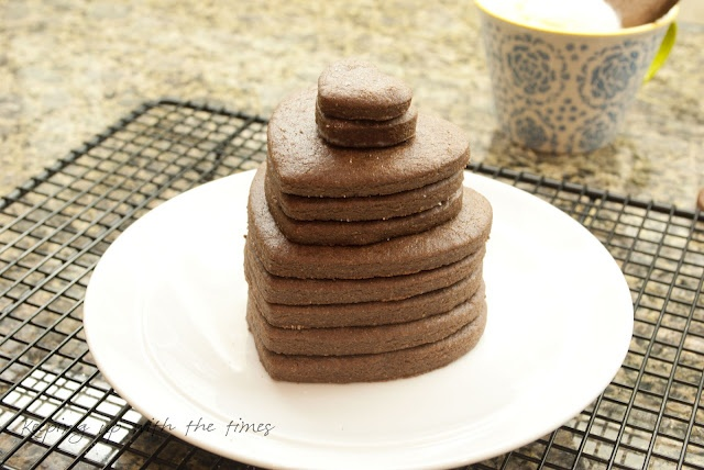 Brownie Roll-Out Cookies   Roll out cookie recipe   Pinterest