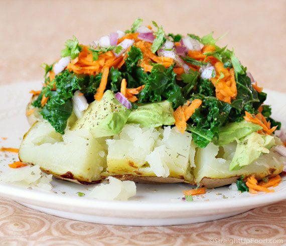 Stuffed Baked Potatoes - Vegan | Vegan Recipes | Pinterest
