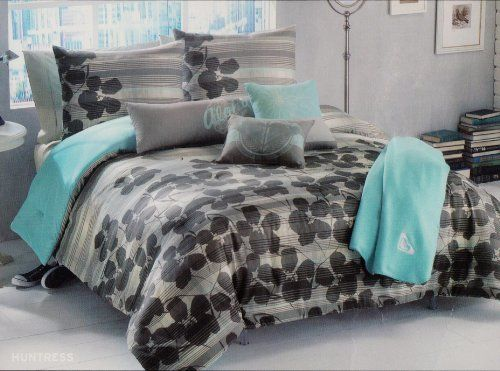Roxy huntress comforter sham body pillow throw bedding set http www