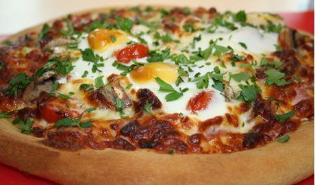 Breakfast' pizza | Favorite Recipes | Pinterest
