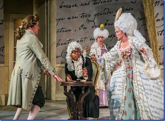 New Jersey Footlights: STNJ's production of Molière's flirty comedy 'Lear...
