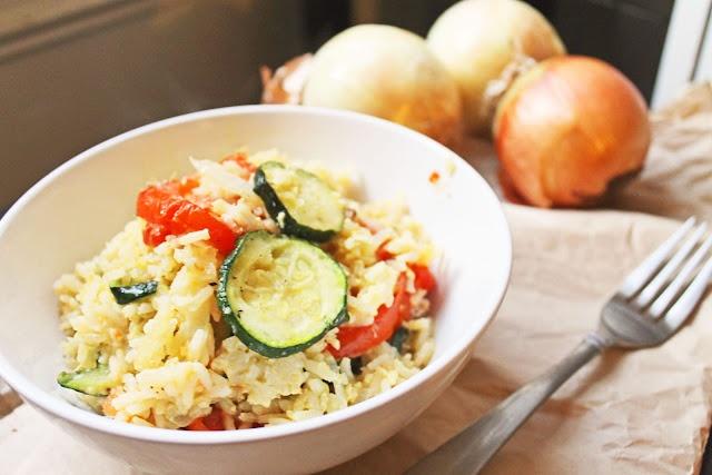 Zucchini and Tomato Rice Gratin | Favorite Recipes | Pinterest