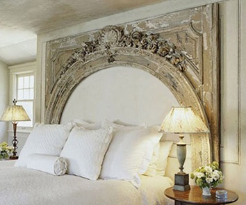Headboard diy with old mirror for the home pinterest