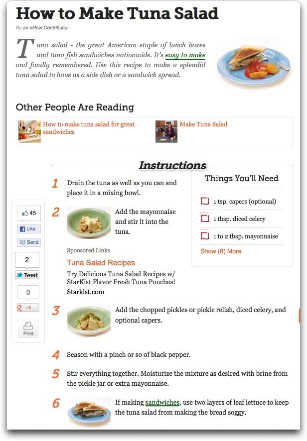 Tuna Salad Sandwich | Sandwiches | Pinterest