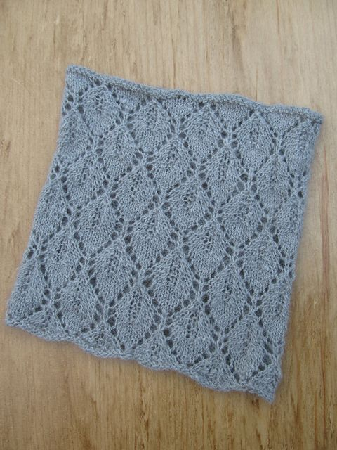 Knit Lace Cowl Pattern : Leaf Lace Cowl Knitchicgrace Knitting Pattern Images - Frompo