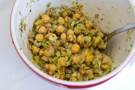 Chickpea Salad Wraps | Appitizers | Pinterest