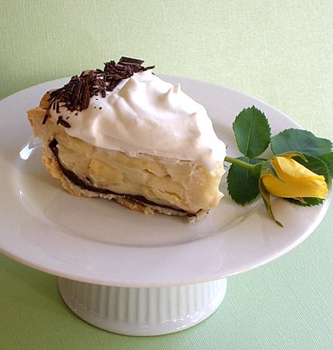 Chocolate Ganache Pie Recipe http://baking911.com/pies-tarts/chiffon ...
