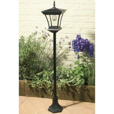 solar powered lamp post off the grid pinterest. Black Bedroom Furniture Sets. Home Design Ideas