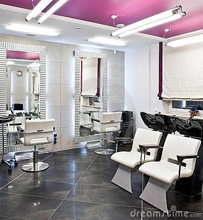 Beauty Salon Interior By Happyphoto Via Dreamstime