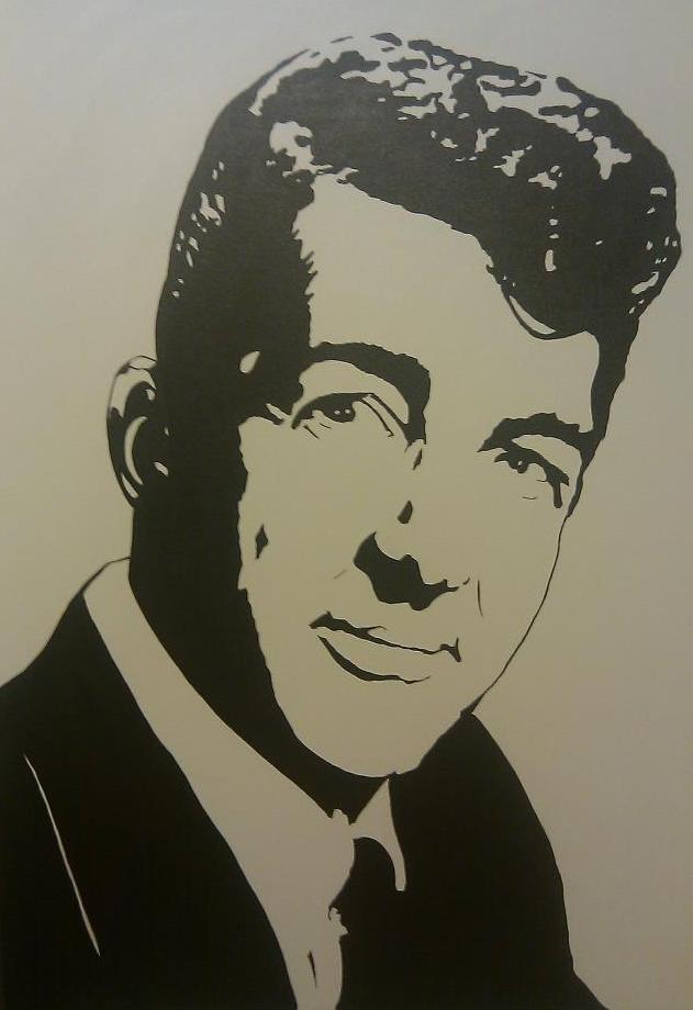 dean martin stencil - photo #1
