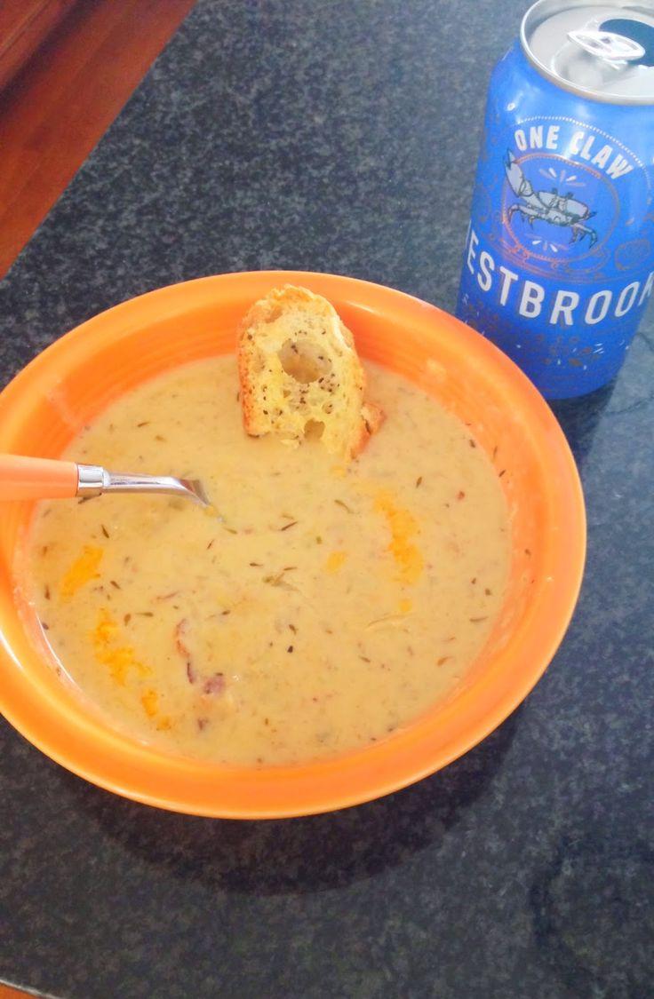 Jalapeno Beer Cheddar Soup