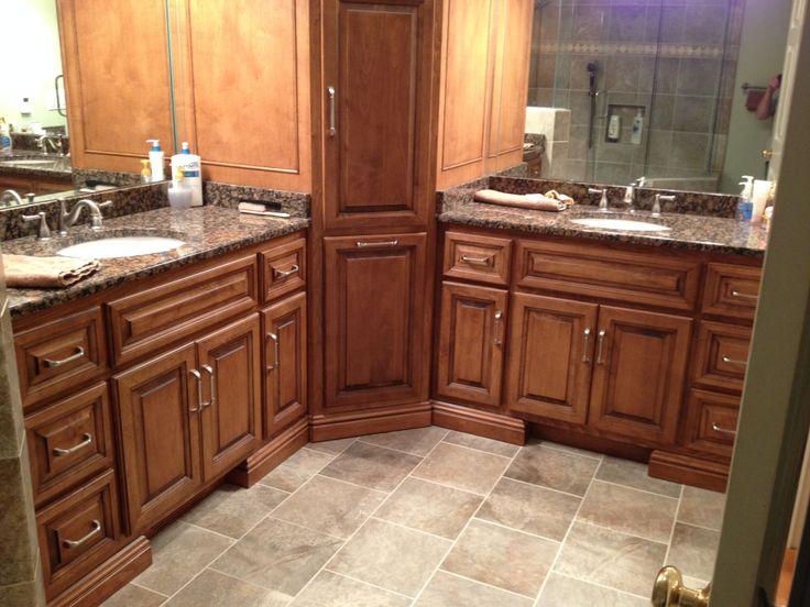 Granite tops porcelain tile bathroom vanity tops pinterest