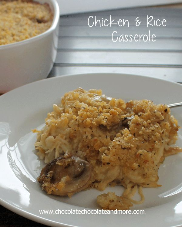Easy Chicken and Rice Casserole | Recipe