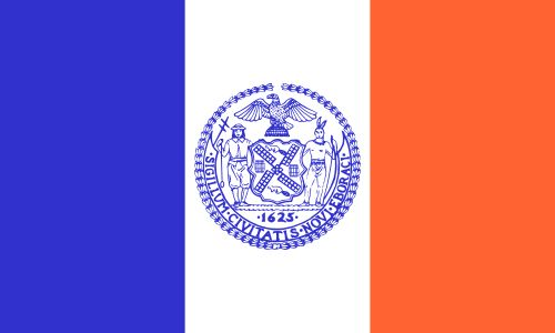new york colonial flag