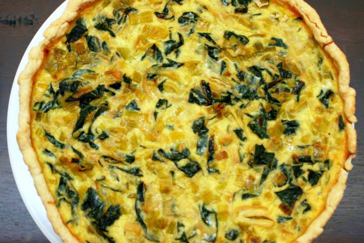 Leek and Swiss Chard Tart | GALETTE - TART - CROSTATA - PIE | Pintere ...