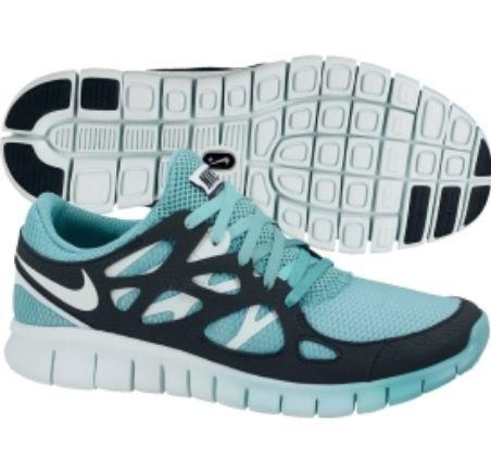 Blue ombr  women's nike shoes