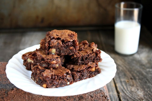 chewy brownies | Bars and Brownies | Pinterest
