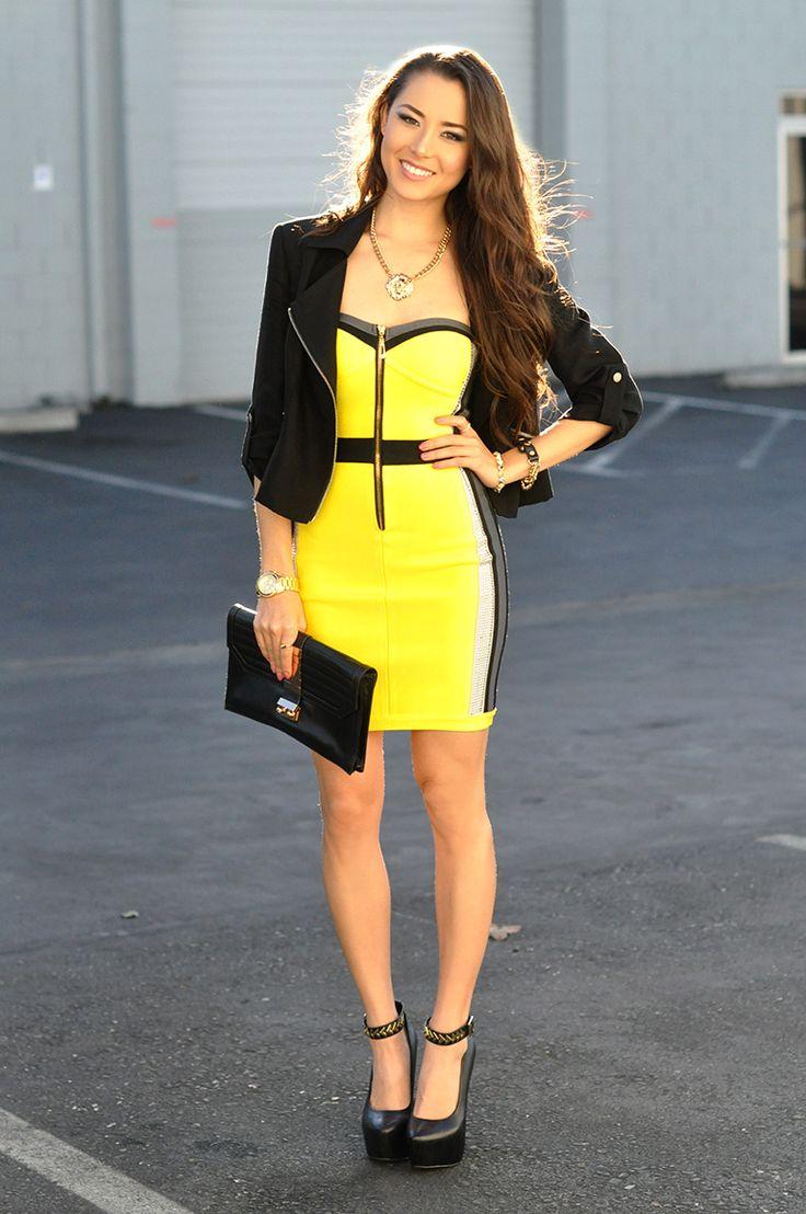 bright yellow + black = never boring