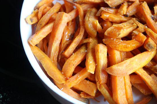 Oven Baked Sweet Potato Fries | Food for Kiddo! | Pinterest